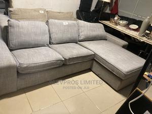 Lshape Grey Sofa | Furniture for sale in Lagos State, Amuwo-Odofin