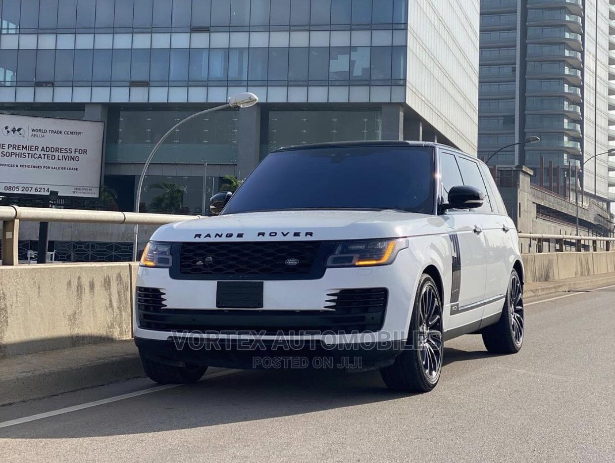Land Rover Range Rover 2017 White