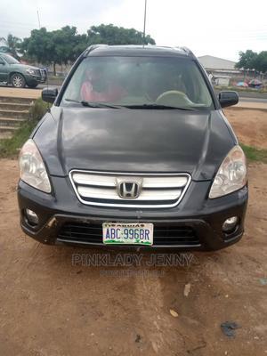 Honda CR-V 2003 2.0i ES Automatic Black | Cars for sale in Lagos State, Ikorodu