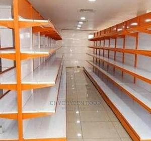 Double Sided Supermarket Shelf | Restaurant & Catering Equipment for sale in Lagos State, Amuwo-Odofin