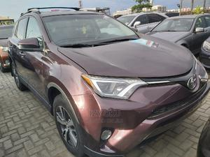 Toyota RAV4 2017 LE AWD (2.5L 4cyl 6A) Brown   Cars for sale in Lagos State, Lekki