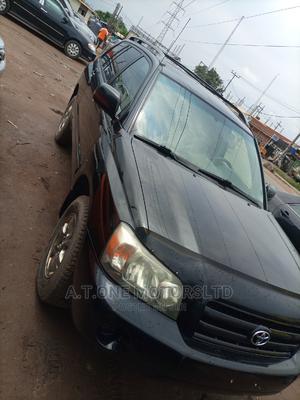 Toyota Highlander 2005 V6 Black | Cars for sale in Lagos State, Ejigbo