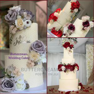 Buttercream Customized Wedding Cake   Wedding Venues & Services for sale in Lagos State, Alimosho