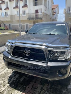 Toyota Tacoma 2011 Double Cab V6 Automatic Gray   Cars for sale in Lagos State, Lekki