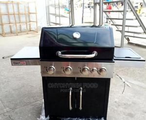 4 Burner Charcoal Bbq Grill | Restaurant & Catering Equipment for sale in Lagos State, Amuwo-Odofin