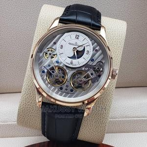 Jaeger Lecoultre Genuine Leather Wrist Watch High Quality | Watches for sale in Lagos State, Lagos Island (Eko)