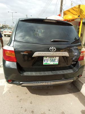 Toyota Highlander 2008 Limited Black | Cars for sale in Lagos State, Surulere