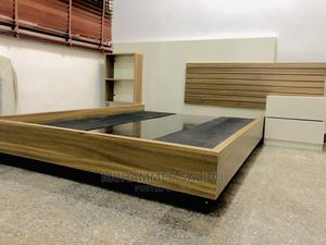 6by6 Bed With Bed Side   Furniture for sale in Abuja (FCT) State, Karmo