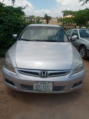 Honda Accord 2007 2.0 Comfort Silver | Cars for sale in Abuja (FCT) State, Karu