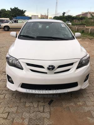 Toyota Corolla 2012 White   Cars for sale in Abuja (FCT) State, Central Business District