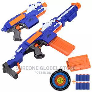 Soft Bullet Toy Gun Sniper Rifle Plastic Gun   Toys for sale in Lagos State, Victoria Island