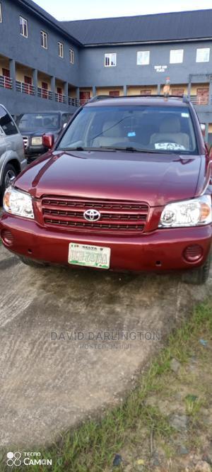 Toyota Highlander 2003 V6 FWD Red   Cars for sale in Rivers State, Port-Harcourt