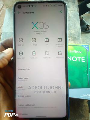 Infinix Note 8i 64 GB Blue | Mobile Phones for sale in Ogun State, Abeokuta South