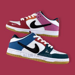 Parra X Nike Sb Dunk Low Mismatch Sneakers | Shoes for sale in Lagos State, Lagos Island (Eko)