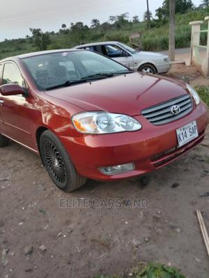 Toyota Corolla 2004 Red   Cars for sale in Lagos State, Ikeja