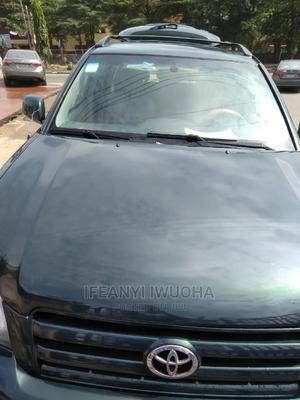 Toyota Highlander 2003 V6 AWD Green   Cars for sale in Lagos State, Ojodu