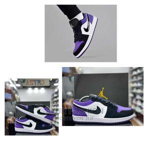 Air Jordan 1 Low 'Court Purple' Sneakers   Shoes for sale in Lagos State, Lagos Island (Eko)
