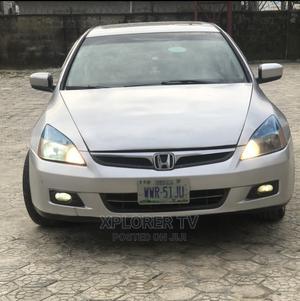 Honda Accord 2007 Sedan EX-L V-6 Automatic Silver | Cars for sale in Delta State, Warri