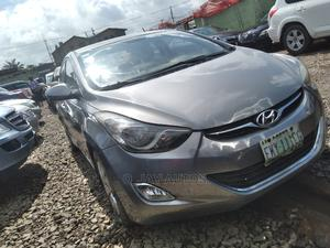 Hyundai Elantra 2013 Gray   Cars for sale in Lagos State, Agege