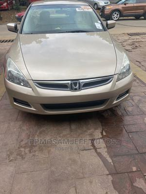 Honda Accord 2007 Gold   Cars for sale in Lagos State, Ajah
