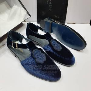 Lovely Men's Sandals Shoes Billionaire Blue and Black | Shoes for sale in Lagos State, Lekki