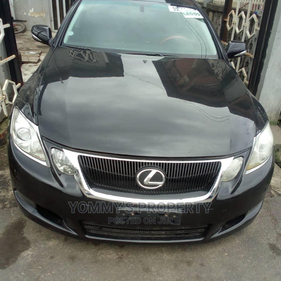 Lexus GS 2011 Black
