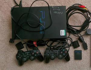 Sony Playstation 2 Uk Used With Games 2pad | Video Games for sale in Oyo State, Ibadan