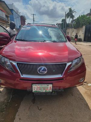 Lexus RX 2011 450h Red   Cars for sale in Lagos State, Ikeja