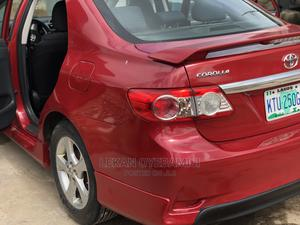 Toyota Corolla 2012 Red | Cars for sale in Lagos State, Surulere