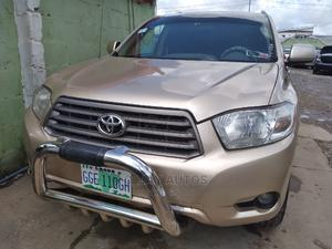 Toyota Highlander 2008 Gold   Cars for sale in Lagos State, Ogba