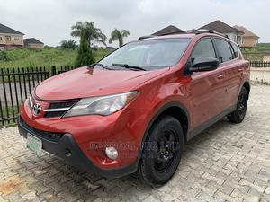 Toyota RAV4 2014 LE 4dr SUV (2.5L 4cyl 6A) Red | Cars for sale in Lagos State, Ajah