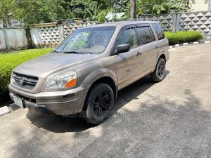 Honda Pilot 2005 EX 4x4 (3.5L 6cyl 5A) Gold | Cars for sale in Lagos State, Isolo