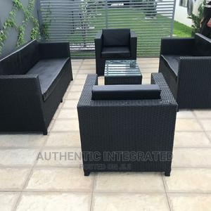 A Set of Basket Sofa Chair With Centre Table | Furniture for sale in Lagos State, Surulere
