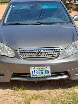 Toyota Corolla 2007 S Gray | Cars for sale in Abuja (FCT) State, Central Business District
