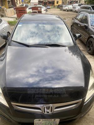 Honda Accord 2006 2.0 Comfort Black   Cars for sale in Lagos State, Surulere