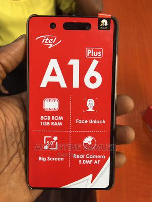 New Itel A16 Plus 8 GB Gold | Mobile Phones for sale in Rivers State, Port-Harcourt