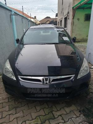 Honda Accord 2005 Sedan LX V6 Automatic Black | Cars for sale in Lagos State, Isolo