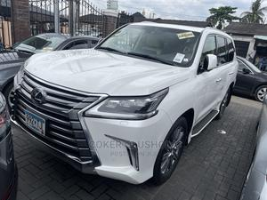 Lexus LX 2016 570 (5 Seats) AWD White | Cars for sale in Lagos State, Surulere
