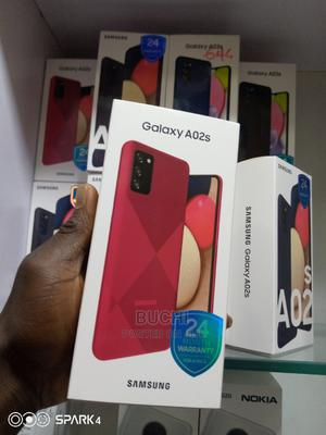 New Samsung Galaxy A02S 32 GB Blue   Mobile Phones for sale in Lagos State, Ikeja