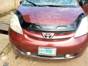 Toyota Sienna 2007 LE 4WD Red   Cars for sale in Lagos State, Surulere