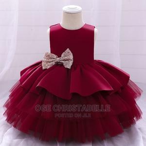 Girls Baby Princess Ball Party Gown 4-5years   Children's Clothing for sale in Rivers State, Port-Harcourt