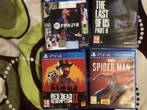 RDR 2 + LOU 2 + Spider-Man + Fifa 21 All PS4 | Video Games for sale in Lagos State, Ikeja