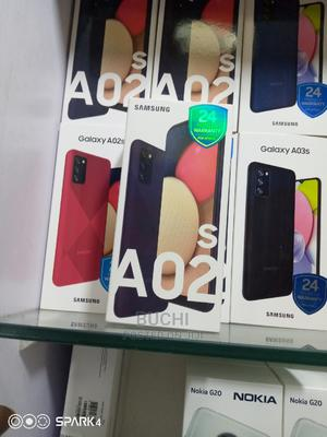 New Samsung Galaxy A02S 32 GB Blue | Mobile Phones for sale in Lagos State, Ikeja