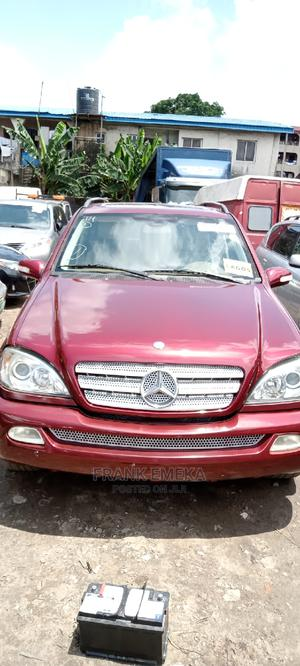 Mercedes-Benz M Class 2003 ML 320 Red   Cars for sale in Lagos State, Apapa