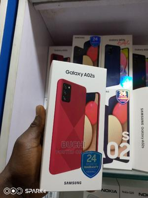 New Samsung Galaxy A02S 32 GB Red | Mobile Phones for sale in Lagos State, Ikeja