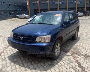 Toyota Highlander 2003 V6 AWD Blue   Cars for sale in Lagos State, Apapa