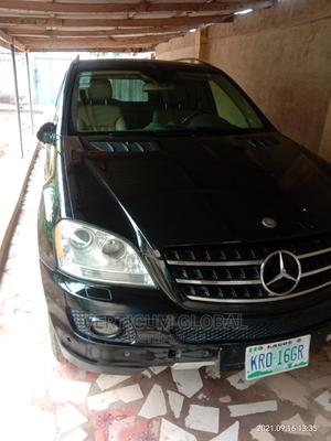 Mercedes-Benz M Class 2007 ML 350 4Matic Black | Cars for sale in Lagos State, Isolo
