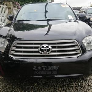 Toyota Highlander 2009 V6 Black | Cars for sale in Lagos State, Ojodu