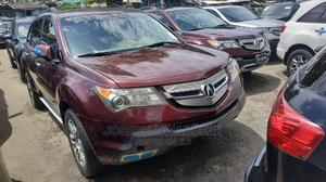 Acura MDX 2008 SUV 4dr AWD (3.7 6cyl 5A) Red | Cars for sale in Lagos State, Amuwo-Odofin