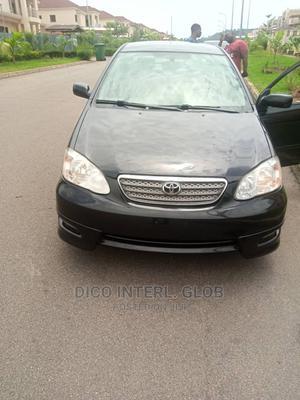 Toyota Corolla 2007 S Black | Cars for sale in Abuja (FCT) State, Jahi